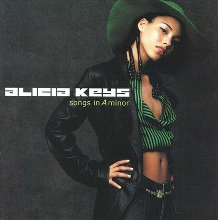 1 of 1 - Songs in A Minor by Alicia Keys (CD, Jun-2001, J Records)