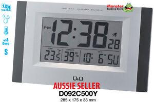 AUSSIE-SELER-CITIZEN-MADE-ALARM-amp-WALL-CLOCK-SNOOZE-TEMPERATURE-LIGHT-D092C500