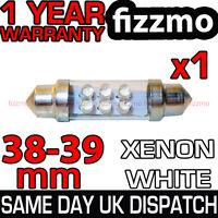 6 LED 239 272 38mm 39mm XENON WHITE NUMBER PLATE INTERIOR LIGHT FESTOON BULB UK