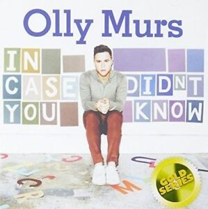 OLLY-MURS-In-Case-You-Didn-039-t-Know-Gold-Series-CD-BRAND-NEW