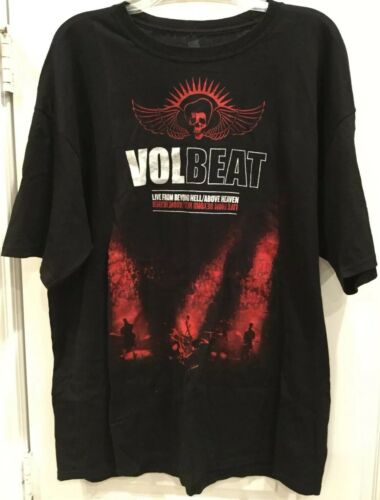 """Volbeat """"Live From Beyond Hell / Above Heaven"""" T-S"""