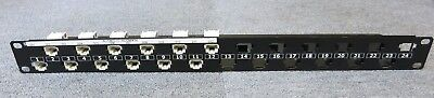 Commscope Systimax 108356312 Fleximax 12 Port Rj45 1u Cat6 Patch Panel Unloaded Vivid And Great In Style