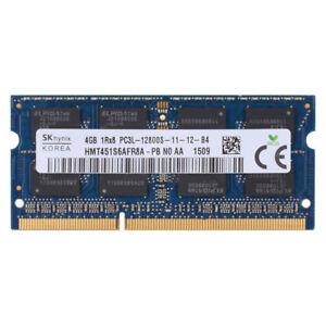 1x-4GB-DDR3L-1600Mhz-PC3L-12800S-SO-Dimm-1-35V-SDRAM-Fuer-Laptop-Speicher