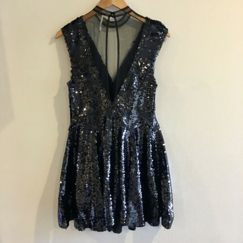 Free People Sequins Dress, XS