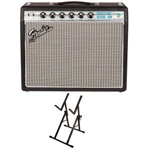 Fender-68-Custom-Princeton-Reverb-1x10-Guitar-Combo-Amp-Ultimate-Support-Stand