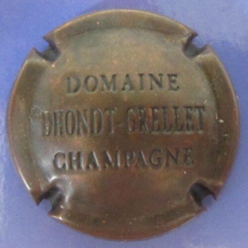 Belle capsule de champagne DHONDT-GRELLET n°8