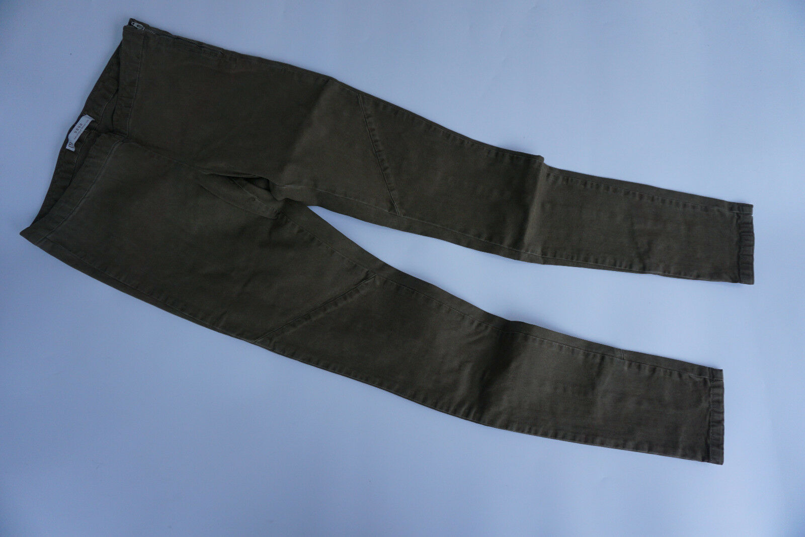 YAYA Damen super Stretch Legging Hose Röhren Skinny Gr.36 L32 oliv grün NEU