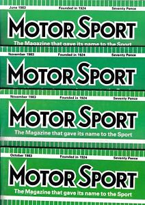 Various-Issues-of-MOTOR-SPORT-Magazine-from-January-1982-to-December-1989
