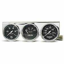 Auto Meter 2399 Gauge Mount Pod In Console 2 58 Oilwatervolt Chrome