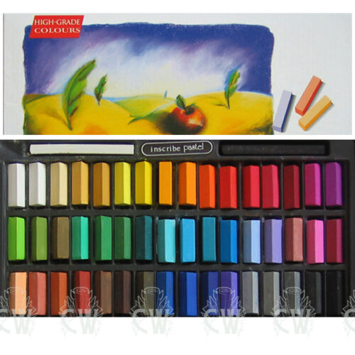 Inscribe Artists Soft Pastels IMPS48 Box Set of 48 Assorted Colours