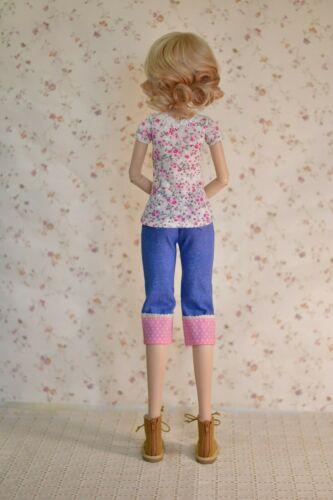 """PDF Doll Clothes Pattern Fits 23.5/"""" Mirai SMARTDOLL 1//3 SD BJD Dress Smart Doll"""