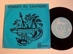 CHOEURS-du-LAURAGAIS-5-titres-7-034-EP-mini-33T-DIAPASON-JH-211-CASTELNAUDARY