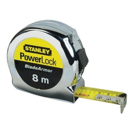 Stanley 0-33-527 Powerlock Tape Measure 8 Metre Metric Only