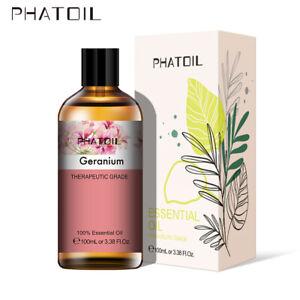 30-100ML-Geranium-100-Pure-Aromatherapie-Huiles-Essentielles-Bio-Avec-Boite