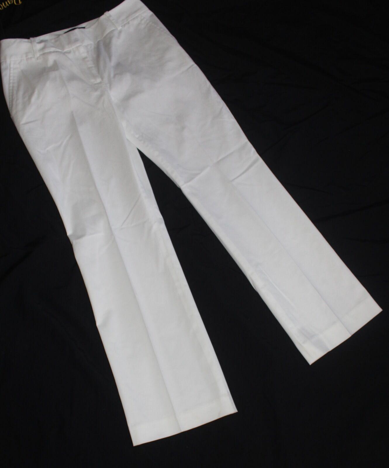 TALBOT'S PETITE HERTAGE WHITE PANTS SIZE 6P NWT RETAILS FOR 79.50