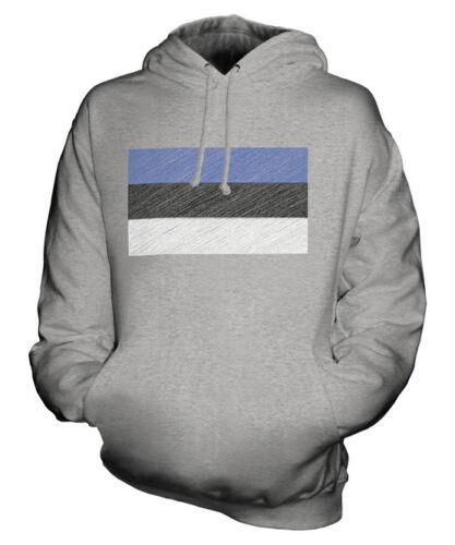 Cadeau Drapeau À Griffonnage Unisexe Eesti Estonien Haut Capuche Sweat Estonie CqagU0Un