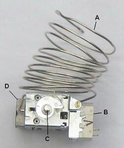 3 Wire Fridge Thermostat | Electrolux Dometic Gas Electric 3 Way Fridge Thermostat V61 P0121