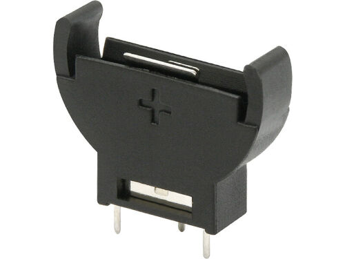 5 x CR2032 3V Knopfzellen Batteriehalter vertikal