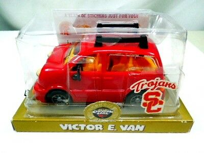 Chevron Cars Victor E Limited Release Van USC Trojans Sports Edition with Stickers