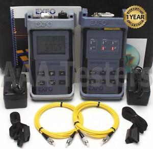 EXFO-FOT-90A-SM-Power-Meter-amp-FLS-230A-Visual-Fault-Locator-VFL-FOT-92A
