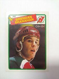 1988-89-OPC-122-DEVILS-BRENDAN-SHANAHAN-ROOKIE-RC-Great-CARD