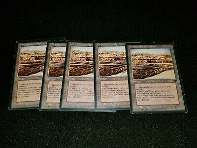 MTG 1x Legends rare land LP Italian FBB Karakas ships w// tracking