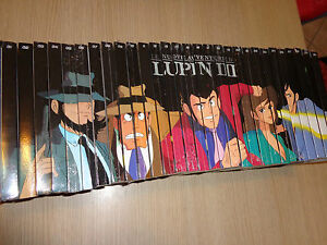 Opera Complete 30 DVD The New Adventures By Lupin III Journal The Sport