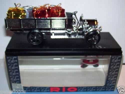RARE RIO FIAT BUS 18 BL EDITION SPECIAL CHRISTMAS REF 349 1993 1 43 IN BOX