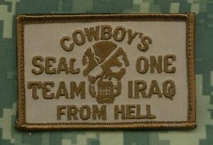 Élite Professionnels Seal Team Un Irak Vel Patch : Cowboys From Hell Nqevrskh-08012751-131837368