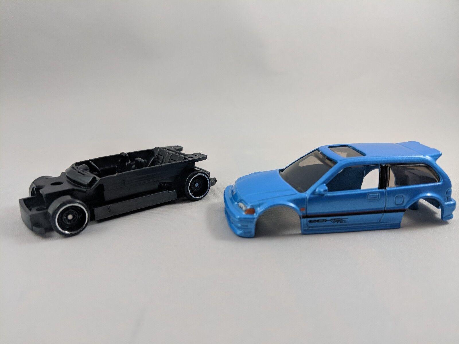 2017 Hot Wheels 1990 honda civic ef , unrivet unspun , predotype , kmart , VHTF