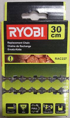 """für Ryobi OCS1830 RCS36 RAC 227 Säge 2x Kette Sägekette p 3//8/"""" 45TG 30cm"""