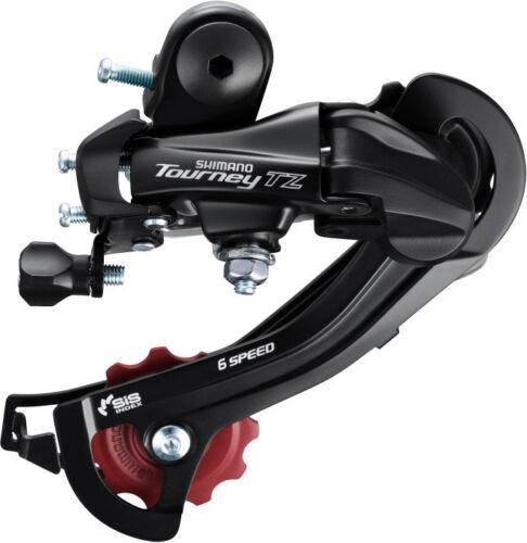 SHIMANO SIS Tourney RD-TZ500 Cycling Bike Rear Derailleur 6//7-Speed Hanger Mount