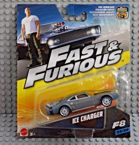 Mattel Fast u Furious Ice Charger 1:55  Neu /& OVP