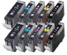 10x PATRONEN für CANON PIXMA iP 3000 4000 5000 MP730 700 750 760 780