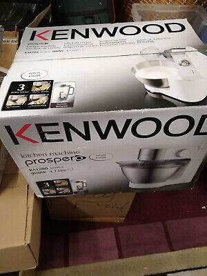 Kenwood KM280 Chef Mezclador Prospero Con Licuadora Blanco Totalmente Nuevo En Caja | eBay