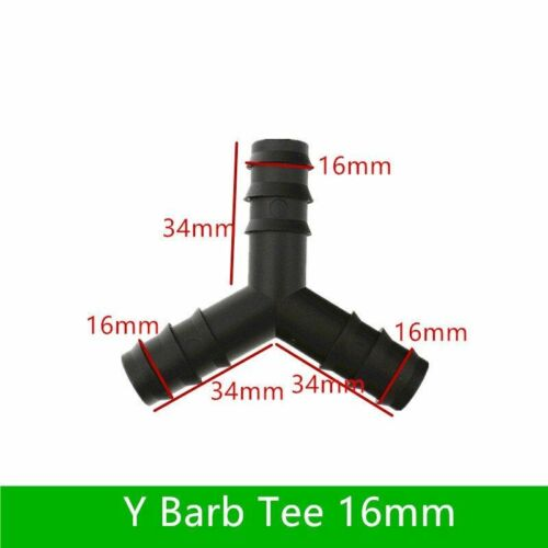 New Barbed Connector Ty Barbed Connector For Poly Hose Garden Micro Drip Fitting