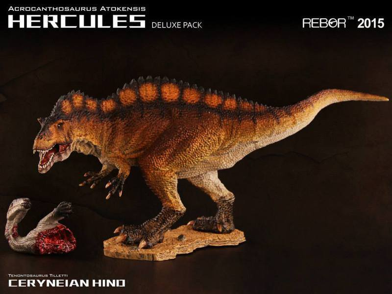 Rebor dinosaurier sammlerstcke acrocanthosaurus atokensis herkules