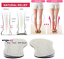 Pronation-Correction-X-O-Type-Bowlegs-Supination-Eva-Leather-Posture-Insoles miniatura 1