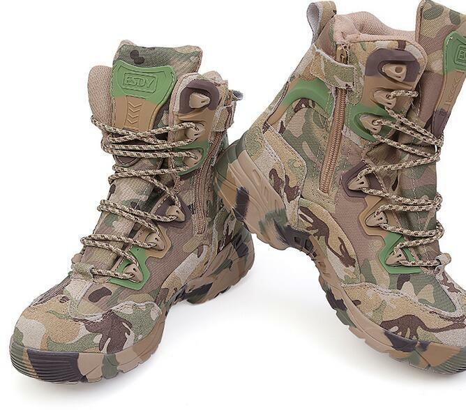 Uomo Combat Forces Special Forces Combat Military Tactical Lace Ankle Up Army   aa60ce