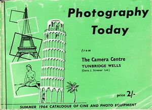 Photography-Today-1964-Catalogue-w-Prices-The-Camera-Centre-Tunbridge-Wells