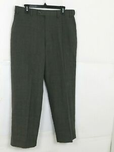 David Taylor Collection Mens Classic Fit Dress Pants Size 34x30 Grey
