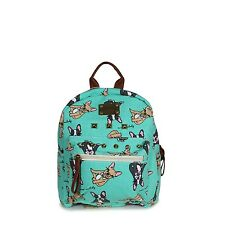 Green Backpack French Bulldog Cute Dog Small Girls Rucksack Dogs Childrens Bag