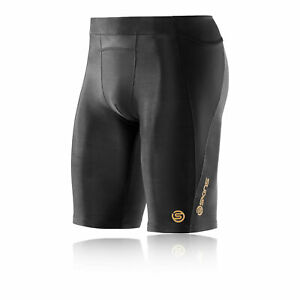 Skins-Mens-A400-Compression-Shorts-Pants-Trousers-Bottoms-Black-Sports-Gym