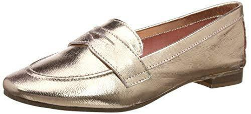 DUNE GALER LEATHER ROSE GOLD REAL LEATHER GALER FLAT Schuhe LOAFERS SLIP ONS SIZE 3 36 BNWB b23ee5