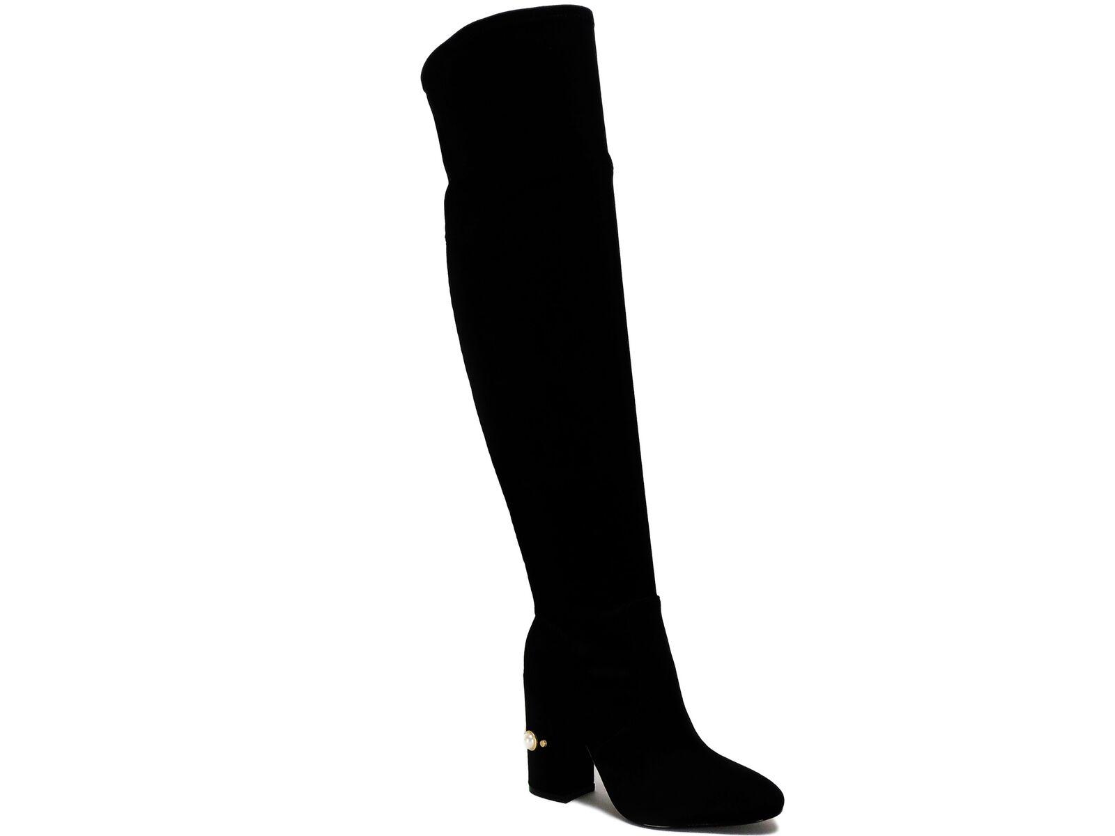 Ivanka Trump para mujer Tamir Tamir Tamir sobre la rodilla botas Negras Talla 5 M  comprar nuevo barato