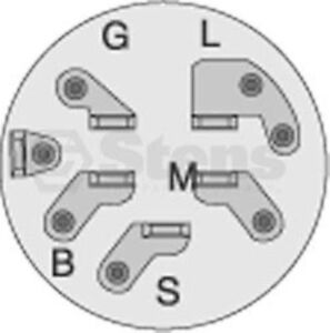 mtd ignition switch diagram 1956 chevy ignition switch diagram replaces mtd riding mower ignition switch mtd 725-1396 ...