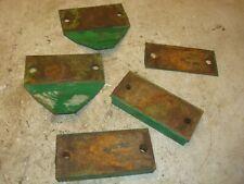 1966 Oliver 1650 Gas Tractor 3pt Sway Blocks Skid Plates