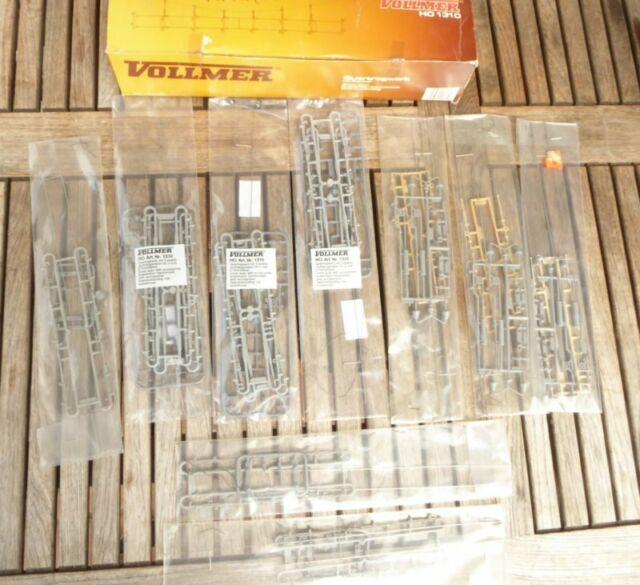Vollmer 1310 etc.H0 Oberleitung Konvolut 3 x Quertragwerke, etc.neuwertig in OVP