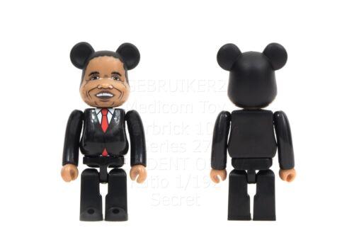 Medicom Toy Bearbrick Series 27 PRESIDENT SECRET 1//192 Be@rbrick 27 Barack Obama