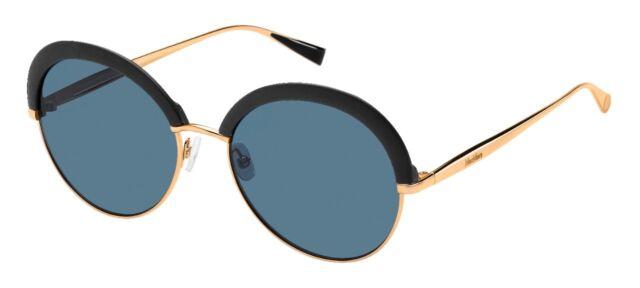 Occhiali da sole Sunglasses MAX MARA ILDE II 1UV 9A ORO NERO 100% UV PROTECTION